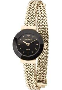 Relógio Feminino Technos Elegance Mini 5Y20Ip/4P Aço - Feminino-Dourado