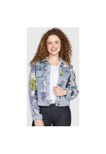 Jaqueta Jeans Desigual Gisela Azul