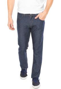Calça Jeans Rock Blue Reta Azul