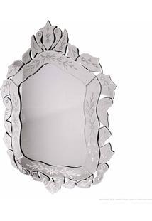 Espelho Decorativo Clarice Prata - Antonio E Filhos