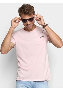 Camiseta Colcci Bolso Masculina - Masculino-Rosa