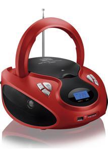 Rádio Portátil 20W Boombox Cd/Usb/Sd/Fm/Aux Sp180 - Multilaser