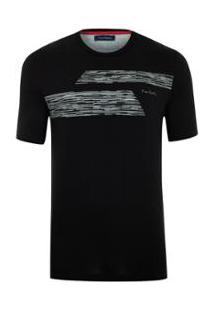 Camiseta Pierre Cardin Black Skil - Masculino