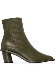 Reike Nen Ankle Boot Pespontada 60Mm - Verde