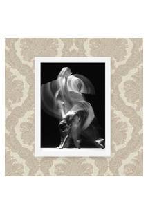 Quadro Decorativo 33X43Cm Nerderia E Lojaria Ballet Ghost Preto