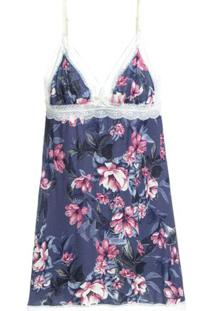 Camisola Sem Manga Modal Misty Estampa Floral