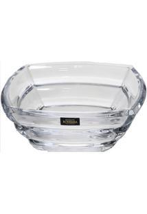 Centro De Mesa Segment Bohemia Cristal Transparente 30,8 X 31,1 Cm