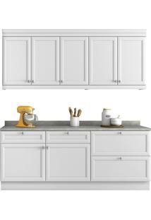 Cozinha Americana 4 Peças Branco Nesher
