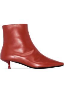 By Far Ankle Boot Laura 50 - Vermelho