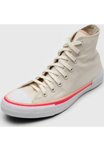 Tênis Converse Chuck Taylor All Star Off-White/Rosa - Kanui