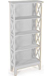 Cristaleira Colonial 2 Portas Atz 81 - Branca