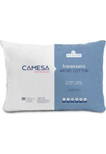 Travesseiro Micro Cotton Ll Branco 50X70 Cm