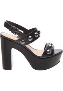 Sandália Plataforma Maxi Black | Schutz