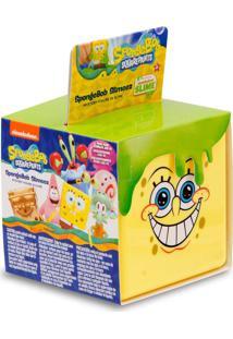 Cubos De Slime Bob Esponja Com Figura Surpresa - Mattel - Tricae