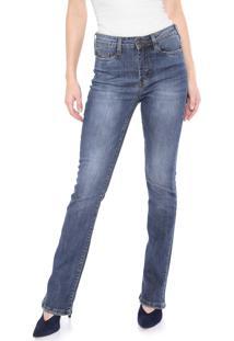 Calça Jeans Carmim Bootcut City Harbor Azul