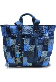 Bolsa Kimberly Rosemary Em Patchwork Original