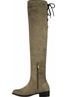Bota Barth Shoes Agnes Feminina - Feminino-Areia