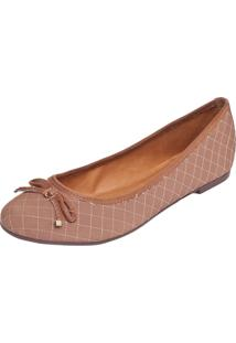 Sapatilha Dafiti Shoes Matelassê Marrom