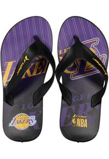Chinelo Rider Nba Los Angeles Lakers Masculino - Masculino