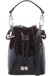 Bucket Bag Bright Snake Black | Schutz
