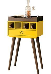 Mesa Bar Martini Amarelo