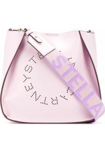 Stella Mccartney Bolsa Tiracolo Stella Com Logo - Rosa