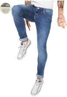 Calça Jeans Colcci Extreme Felipe Indigo Azul