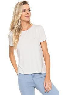 68ccacd32b62b Blusa Calvin Klein Liso feminina   Shoelover