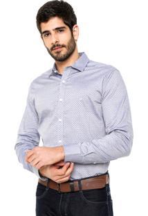 Camisa Wrangler Premium Azul