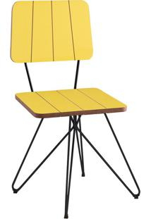 Cadeira Costela Butterfly Amarelo