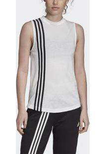 Regata Must Haves 3-Stripes Adidas - Feminino-Branco