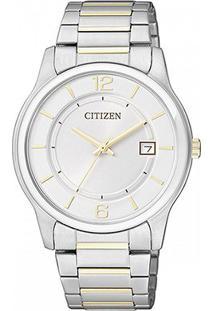 Relógio Citizen Analógico Tz28119B Feminino - Feminino-Prata+Dourado