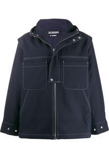 Jacquemus La Veste Meunier Jacket - Azul