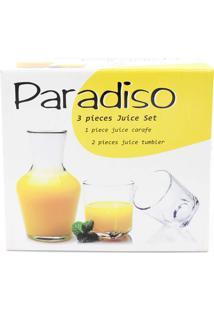 Conjunto Moringa Paradiso Com 03 Peças Ref: 395