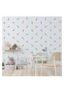 Adesivo Decorativo De Parede - Kit Com 100 Linhas - 010Kab03