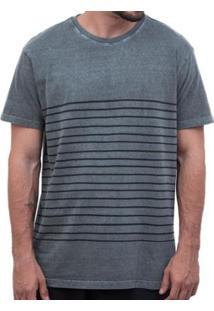 Camiseta Laundry Half Hand Masculina - Masculino-Cinza