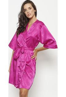 Robe Texturizado- Pinkfruit De La Passion