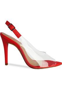 Sandália Naked Heels Red