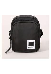 Bolsa Shoulder Bag Pantone Preta