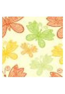 Papel De Parede Adesivo - Borboleta Floral - 006Pps