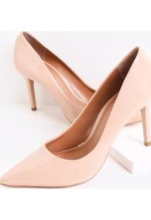 cf8d0333ca ... Sapato Scarpin Feminino Envernizado Satinato