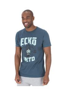 Camiseta Ecko Estampada E492A - Masculina - Azul