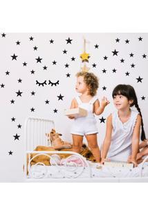 Adesivo Cílios E Estrelas