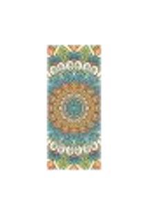 Adesivo Decorativo De Porta - Mandala - 2442Cnpt