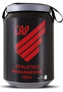Cooler Térmico 24 Latas Pro Tork Athletico Paranaense - Unissex-Preto