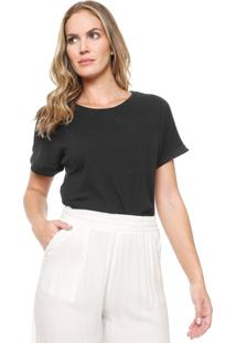 Camiseta Ana Hickmann Wonder Power Preta