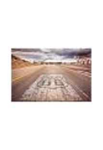 Painel Adesivo De Parede - Rota 66 - 278Pn-G