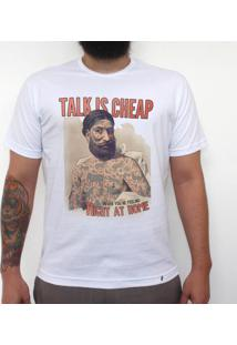 Talk Is Cheap - Camiseta Clássica Masculina