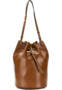 Stella Mccartney Drawstring Shoulder Bag - Marrom