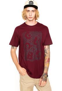 Camiseta Globe Nest Of Snakes Vinho